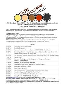SSS 2017 Toronto Agenda Invitation CCMS